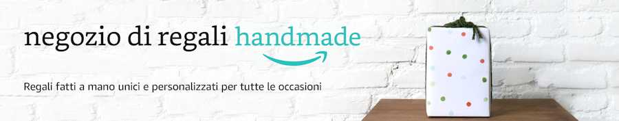 Negozio di regali handmade - Amazon