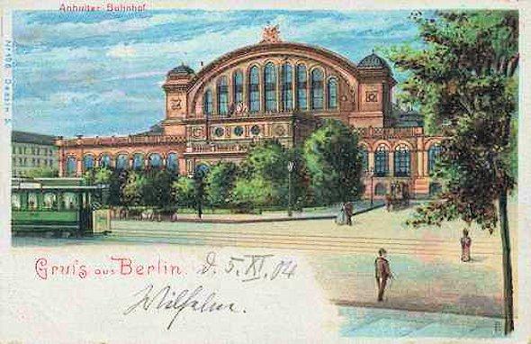 Berlino - com\'era 100 anni fa e com\'è oggi (1)