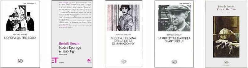 Bertolt Brecht poeta tedesco 1898-1956 gesso Busto Bella Decorazione Nuovo
