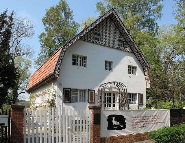 La casa di Bertolt Brecht und Helene Weigel a Buckow