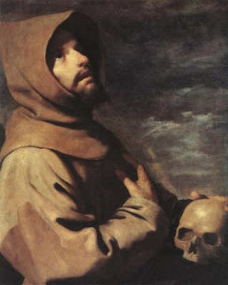 Francisco de Zurbarán: Estasi di San Francesco