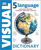 Visual dictionary: inglese - francese - italiano - spagnolo - tedesco
