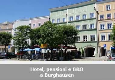 Hotel, pensioni e Bed and Breakfast a Burghausen