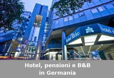 Hotel, pensioni e Bed and Breakfast in Germania