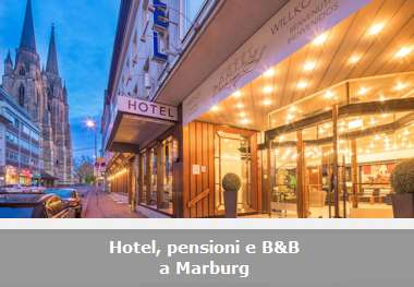 Hotel, pensioni e Bed and Breakfast a Marburg