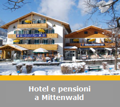 Hotel, pensioni e Bed and Breakfast a Mittenwald