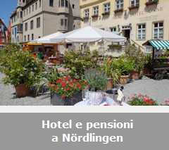 Hotel, pensioni e Bed and Breakfast a Nördlingen