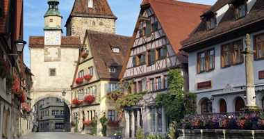 Hotel, pensioni e Bed and Breakfast a Rothenburg ob der Tauber