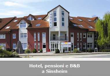Hotel, pensioni e Bed and Breakfast a Sinsheim