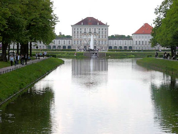 Il castello di Nymphenburg