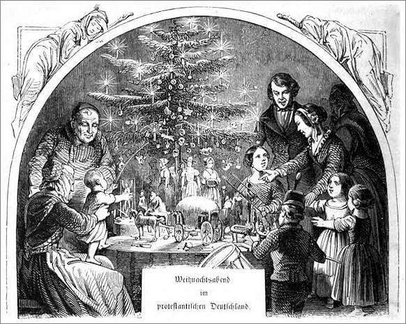 Albero Di Natale Origini.L Origine Dell Albero Di Natale Storia Dell Albero Di Natale