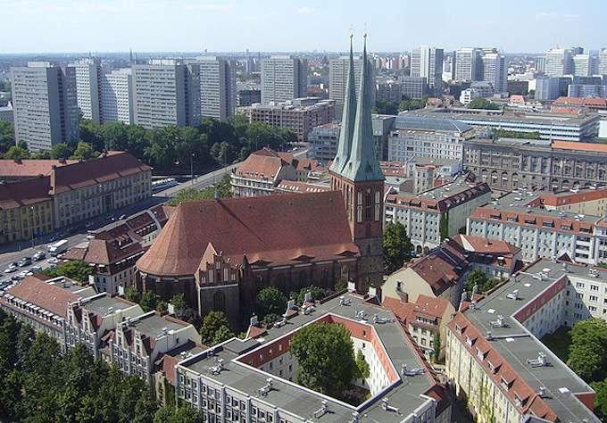 """Il quartiere """"Nikolaiviertel"""" di Berlino"""