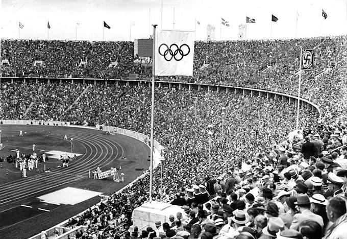I giochi olimpici del 1936 a Berlino