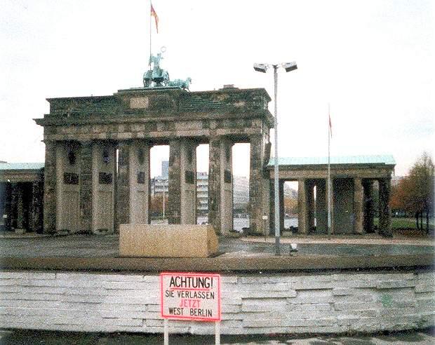 Berlino la porta di brandeburgo - Berlino porta di brandeburgo ...