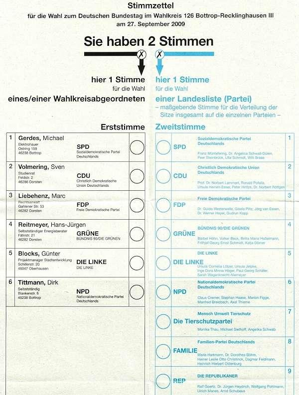 Come si vota in Germania? Sulla legge elettorale tedesca