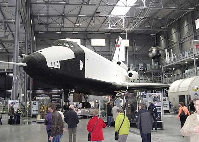 Lo Space Shuttle Buran dell'Unione Sovietica